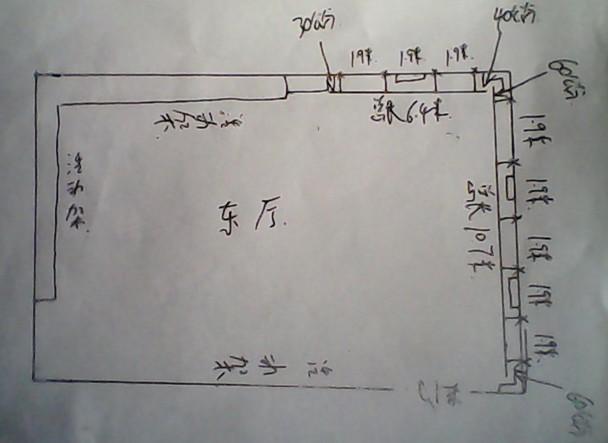 东厅手绘图